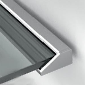 Uchycení skla na stěnu